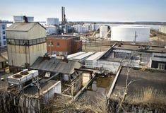NJ industriel images libres de droits