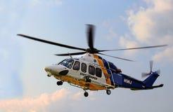 NJ marechausseehelikopter Royalty-vrije Stock Foto's