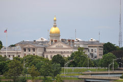NJ State House Stock Photo