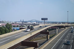 NJ Turnpike View Royalty Free Stock Photos