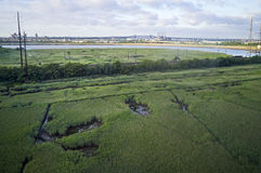 Nj Wetland View on Pulaski Skyway Map