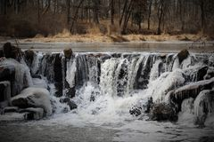 NJ zimy krajobraz Fotografia Stock