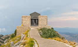 Njegos mausoleum Lovcen Stock Photos