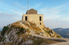 Njegos Mausoleum in Lovcen. Montenegro Royalty Free Stock Images