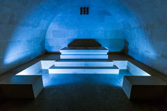 Njegos mausoleum in Lovcen National park - Montenegro. Njegos mausoleum in Lovcen National park at Montenegro Stock Images