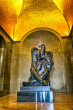 Njegos-Statue Lovcen Lizenzfreie Stockbilder