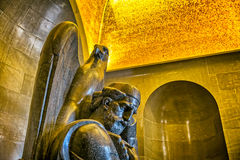 Njegos-Statue Lovcen Stockfoto