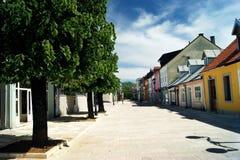 Njegos Street, Cetinje Royalty Free Stock Image