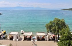Njivice, Croazia Fotografia Stock Libera da Diritti