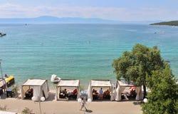 Njivice, Croácia Foto de Stock Royalty Free