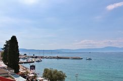 Njivice, Kroatië Royalty-vrije Stock Fotografie