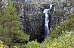 Njupeskaer Imagen de archivo libre de regalías