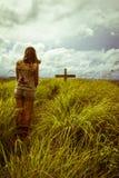 Änka på sorgen Royaltyfri Foto