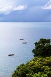 Nkhata bay. A scene over lake malawi taken from nkhata bay Stock Image