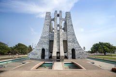 Nkrumah Memorial Park, Accra, Ghana fotografering för bildbyråer