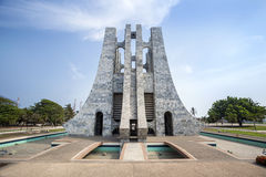 Nkrumah Memorial Park, Accra, Ghana Obraz Stock