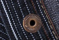 Nlassic a façonné des jeans avec le rivet photo stock