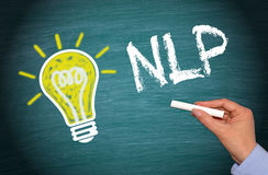 NLP - Neuro Linguistic Programming Stock Photo