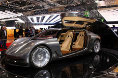 Free NLV Quant Solar Electric, Motor Show 2010, Geneva Stock Image - 13336261