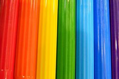 Markers ribbed Royalty Free Stock Photos