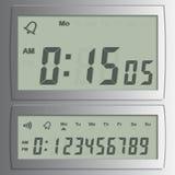 Números digitais do vetor Imagens de Stock