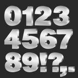 números do vetor 3D Foto de Stock Royalty Free