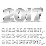 números do vetor 3D Imagem de Stock Royalty Free