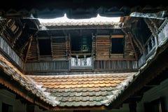 Nner podwórze; nazwany 'Nalukettu'; dziedzictwa wewnętrzny podwórze obraz stock