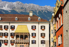 Nnsbruck Golden Roof Royalty Free Stock Photography