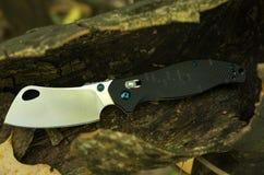 Nożowy siekacz masarki falcowania nóż Kieszeniowy nóż zdjęcia stock