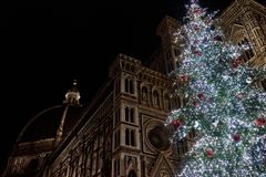 Noël à Florence Photos stock