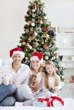 Noël à la maison Image libre de droits