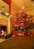Noël à la maison Images libres de droits