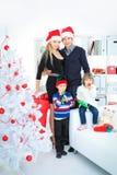 Noël à la maison images stock