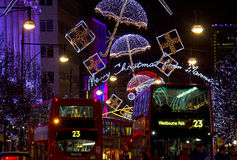 Noël à Londres Photo libre de droits