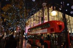 Noël à Londres Photos libres de droits
