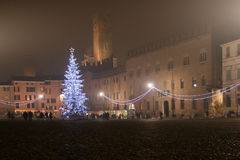 Noël à Mantova Photo stock