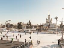Noël à Moscou, Russie Images libres de droits