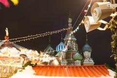 Noël à Moscou, Russie Image stock