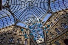 Noël à Naples Images libres de droits