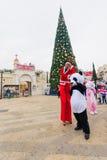Noël à Nazareth Photo libre de droits