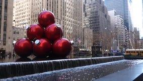 Noël à New York banque de vidéos