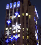 Noël à Varna, Bulgarie Photos libres de droits