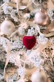 Noël à votre coeur - cadeau pour elle photos libres de droits