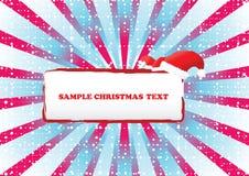 Noël abstrait de fond Image libre de droits
