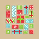 Noël Advent Calendar illustration libre de droits