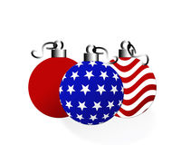 Noël américain Photos stock