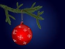 Noël-arbre Image libre de droits