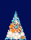 Noël-arbre Images stock