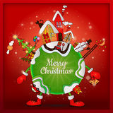 Noël autour du monde Images stock
